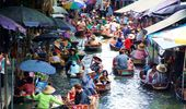 Damnernsaduak Floating Market (half Day)