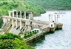 Bhadra River Project Dam