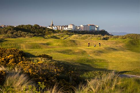 Tenby Golf Club - White And Yellow